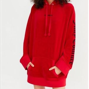 Juicy Couture Los Angeles Velcour Oversized Hoodie